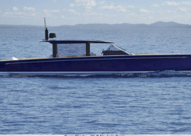 First Swan Powerboat: 55-Knot, 40-foot, Swan Shadow