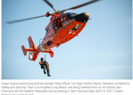Coast Guard Grounds Helicopters: Spare Parts Shortage