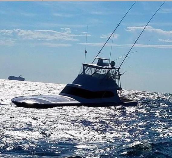 55 Foot Custom Sport Fishing Boat Sinks In Tournament Off Charleston