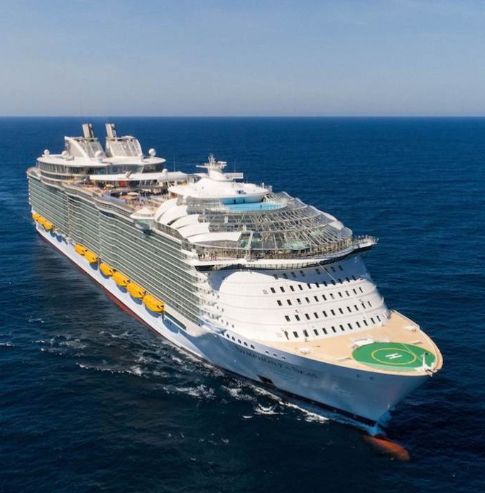 Largest Cruise Liner in the World Just Launched