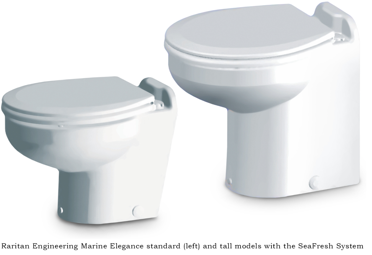 Raritan Introduces New Toilet Using Either Fresh or Sea