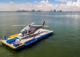 Arrive in Style: Take a Chopper and a Speedboat to the Miami Show