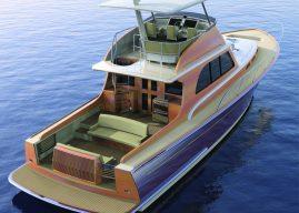 Lyman-Morse Starts Building New, Creative, 39-Knot, Hood 57 Downeast Cruiser