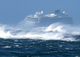 Norway Opens Investigation To Find Out Why Stricken Cruise Liner Ever Left Port