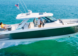 Tiara Launches New 43 LS with Three Yamaha Outboards