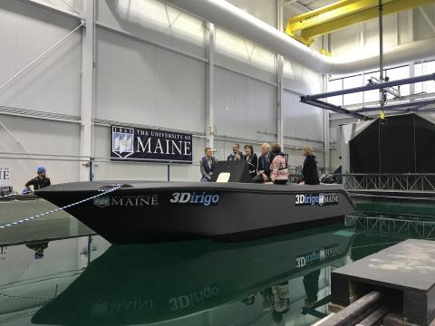 New 3D Printer Makes 25-Foot Boat in 72 Hours