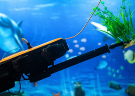 New Underwater Diving Drone Features a Robotic Arm