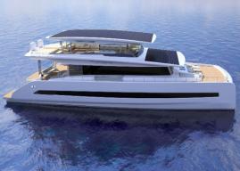 New All-Solar Silent-Yachts 80 Tri-Deck Luxury Cat