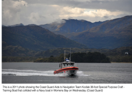 Navy, Coast Guard Boats Collide in Alaska, 9 Hurt