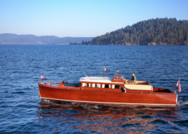 1929 Chris-Craft Commuter Restored in Idaho. See Video