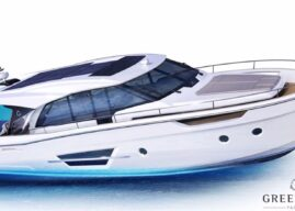 Greenline Building New 45 Coupe Hybrid Cruiser
