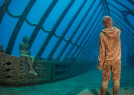 New Dive Spot: The Museum of Underwater Art