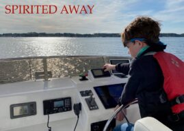 Owner's Son, 9, Writes About Living on Nordhavn 47