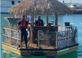 Stolen Floating Tiki Bar Recovered in Key West