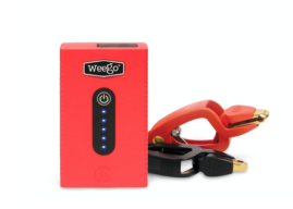 Weego Offers New Compact Jump Starter for Batteries
