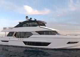 Ocean Alexander Launches 27E Tri-Deck Cruiser