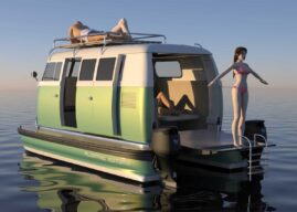 Floating Motors Turns Vintage Cars Into New Boats